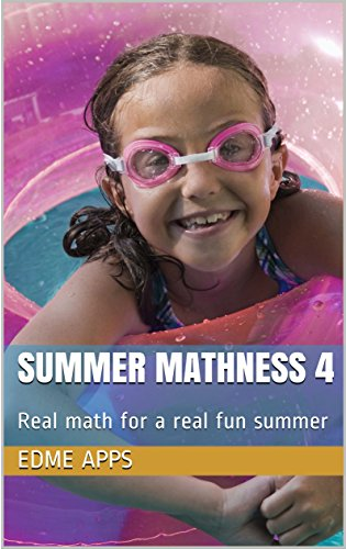 The cover of Summer Mathness 4